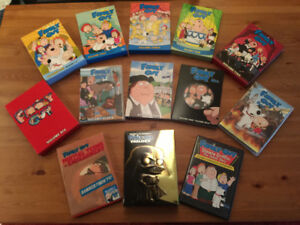 Family Guy complete 1-10 + Star Wars Trilogy + Others