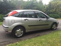 2001 Ford Focus 1.4 - 5 door - 4 Months MOT