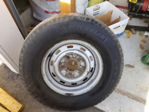 FORD RIMS AND TIRES 235 75 R15