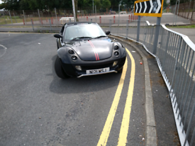 Mercedes Smart Roadster coupe