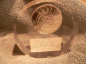 Paul Henderson Sterling coin with autograph
