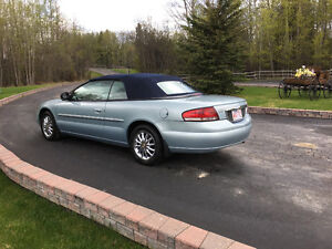 2002 Chrysler Sebring Limited Convertible