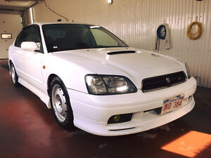 JDM RHD 2000 Subaru Legacy B4 RSK Twin Turbo Sedan