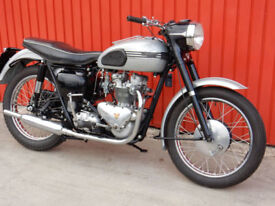 TRIUMPH TIGER T100 1958 500cc Matching Numbers
