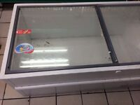 Glass chest freezer 2m