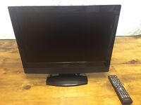 19 inch Goodmans LCD TV with DVD player combo