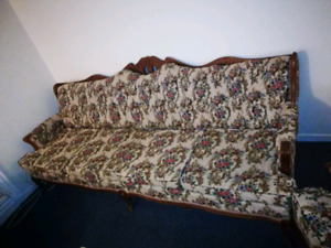 Beautiful style couch and armchair