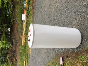 Come get my Old electric hot water heater for the recycling