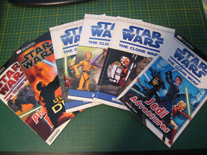 Star Wars young grade school reader books (6)