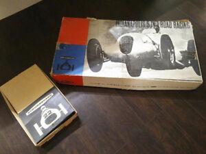 Vintage Strombecker Slot Car Racing Set