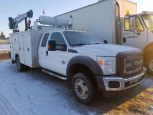 2014 Ford F550 services trucks work ready
