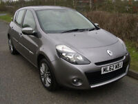 2012 Renault Clio 1.2 16v 75bhp Dynamique Tom Tom, ONLY 24,013 MILES, *SALE ON*