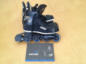 Bauer Supreme 1000 In-Line Roller Skates Size M 6 / L 7.5