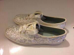 Kate Spade Keds Glitter Sneakers