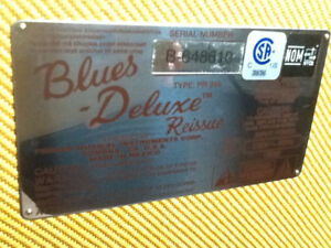 Fender Blues Deluxe ReissueTweed Like New Comme Neuf