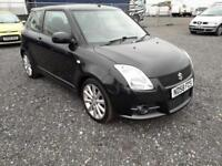 2008 58 SUZUKI SWIFT 1.6 SPORT 3D 125 BHP