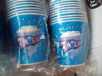 Twister paper cups