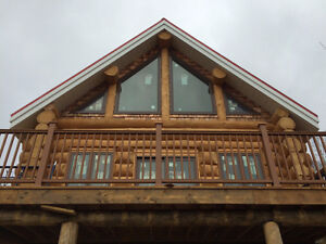 Custom log homes and cabins
