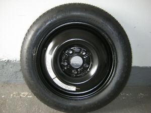 OEM Spare Tire & wheel for Honda Accord: 5 lugs: T135/90D15