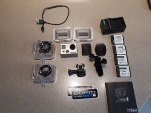 GoPro Hero2 with Accessories