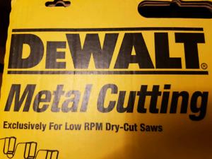 """Dewalt 14"""" metal blade- new"""