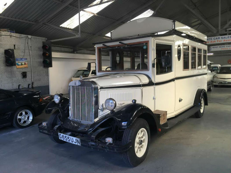ASQUITH MASCOT * VINTAGE WEDDING BUS * 9 SEATER * IN UK STOCK AND ...