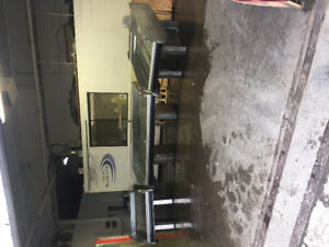 Fish counters and table for sale.
