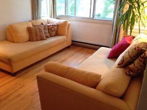 Sofa modulaire avec coussins! Modular sofa with cushions!