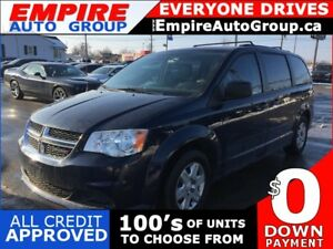 2013 DODGE GRAND CARAVAN SE * ONE OWNER * POWER GROUP * 7 PASS *