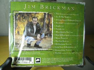 "Jim BrickMan ""The Gift"" New CD Oakville / Halton Region Toronto (GTA) image 2"