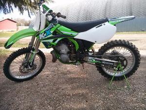 2001 KX 250