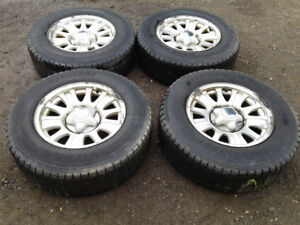 2001-2003 Ford F 150 rims with snow tires