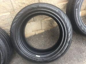 4 pneus été P225/50r17 Continental ContiProContact  9-10/32