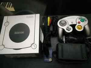 Selling GameCube System,  Platinum, hook ups,  controller.