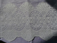 NEW LACE CURTAIN FABRIC Beautiful design