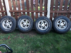 Land rover discovery 1 wheels and tyres