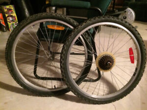 Mountain bike FRONT and REAR wheels used