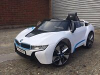 BMW i8 - KIDS RIDE ON SELF DRIVE OR REMOTE CONTROL TOY CAR - SLOUGH - DELIVERY AVAILABLE