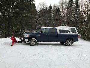 2007 Dodge Ram 2500 4X4 avec Pelle a neige Boss 8pi 2 po en V