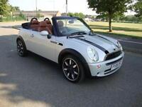 Mini Mini 1.6 One Sidewalk Convertible, Special Edition, Tan Leather,17in Alloys