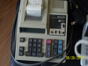 office electronic printing calculators