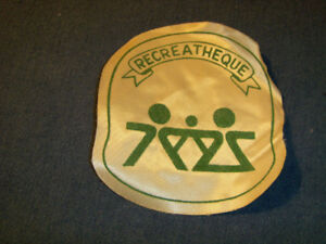 VINTAGE RECREATHEQUE PATCH-1960/70S-CHOMEDEY, LAVAL-COLLECTIBLE!