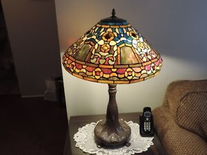 For Sale - Art Glass Table Lamp