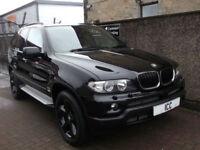 "06 06 BMW X5 3.0D SPORT AUTO 5DR BLACK FULL LEATHER RECARO 19"" ALLOYS LOW TAX"