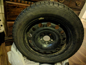 Four Studded Winter Tires and Rims