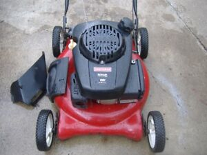 7- GAS PUSH LAWNMOWERS FOR SALE
