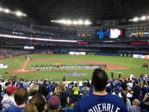 TORONTO BLUE JAYS TICKETS - GREAT SEATS (SAME AS SEEN HERE)