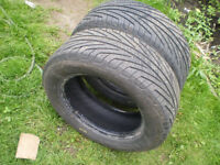 2 Michelin Hydroedge  all season Tires P215/60/R15 for sale