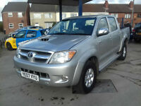 Toyota Hilux diesel HL3 2.5 4WD 1 OWNER FROM NEW, 126,000 FULL HISTORY HPI CLEAR