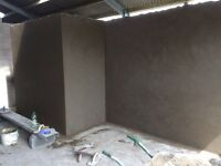 Small plastering jobs